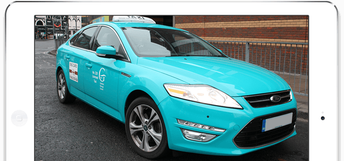 Official Guildford taxi wraps